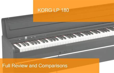 pianoforte digitale korg lp  recensione completa  una buona scelta
