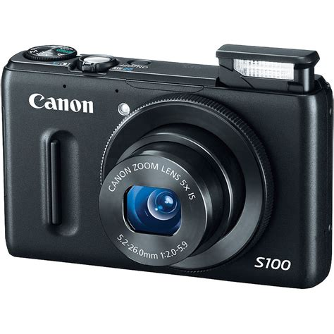 camara canon s100 used canon powershot s100 digital black