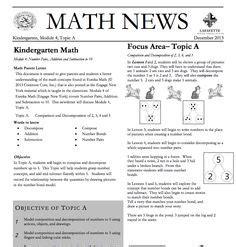 Kindergarten Newsletter On Pinterest Class Newsletter Preschool Newsletter And Weekly Math Newsletter Template