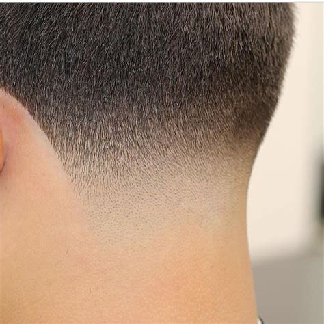 haircut tapered neck ear the neck taper