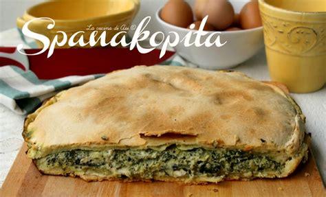 cucina greca ricette spanakopita ricetta preparazione salata cucina greca con