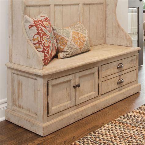 bench entryway kosas home elodie pine storage entryway bench reviews
