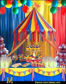 decorating theme bedrooms maries manor circus themed party decorations carnival circus