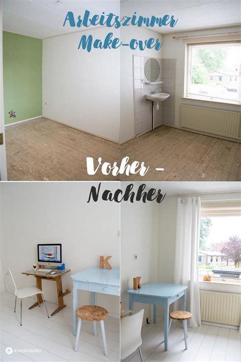 Haus Renovieren Vorher Nachher 4495 by Haus Renovieren Das Arbeitszimmer Makeover Kreativfieber