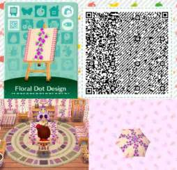 animal crossing home design animal crossing happy home designer animal crossing new leaf quot floral dot design quot qr code
