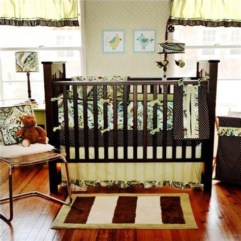 Paisley Print Crib Bedding by Baby Sam Paisley Splash In Lime Baby Bedding 9