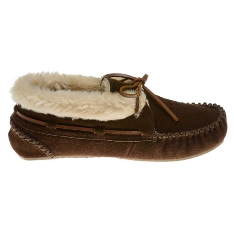 moccasin bootie slippers minnetonka moccasins 40032 s chrissy bootie pile