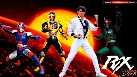Tshirt Kamen Rider Black Rx Bdc 幪面超人 black rx 1 22集 atv配音版 23 47集 影碟粵語版 幪面超人black
