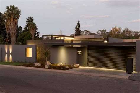 Modern One Story House | creative renovation gives modern life to an existing frame
