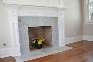 Carrara marble fireplace traditional new york by la pietra tile