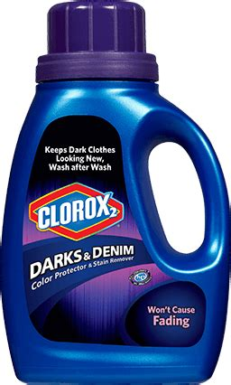 clorox for colored clothes darks denim color protector stain remover clorox
