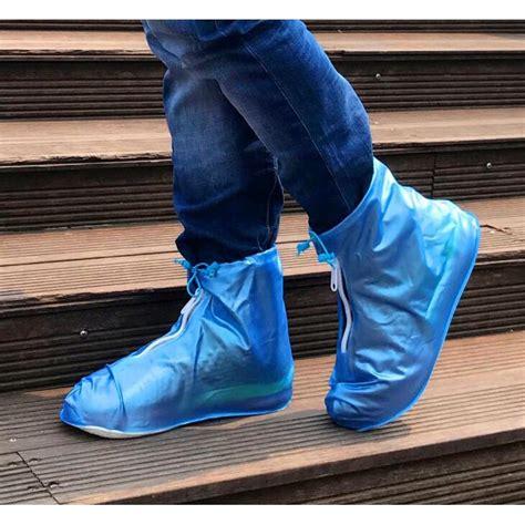 Cover Sepatu Waterproof by Cover Hujan Sepatu Waterproof Size L Blue