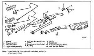 Bmw E36 Exhaust System Diagram Bmw E36 Exhaust System Diagram