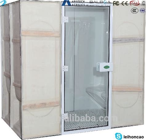 Portable Steam Shower by Home Sauna Acrylic Portable Steam Room View Portable