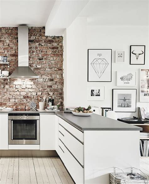 kitchen with brick wall 25 best ideas about exposed brick kitchen on pinterest