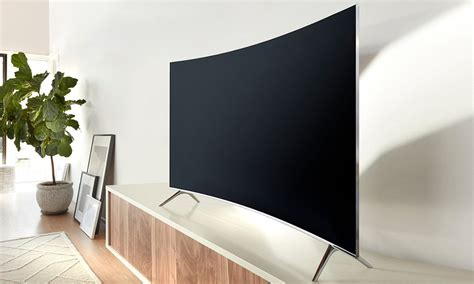 Tv Samsung Ks7500 win samsung 55 suhd curved smart tv with quantum dot display and hdr technology hughes