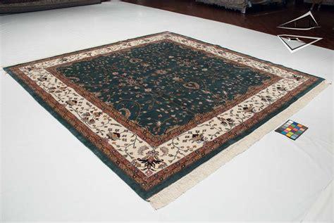 Square Carpets Rugs by Farahan Sarouk Design Square Rug 10 X 10 Teal