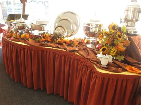 fall buffet table decorations 11 best images about buffet on