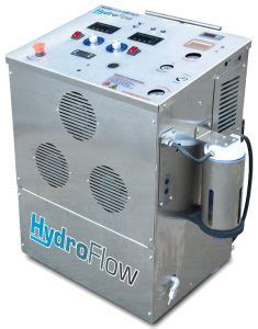 hydroflow carbon cleaning