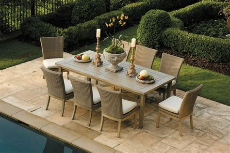 Summer Classic Furniture by Summer Classics A Club Rectangular Aluminum Dining Table