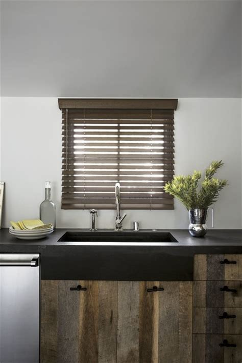 Rustic Wood Blinds Smith Amp Noble Wood Blinds Rustic Window Blinds Los