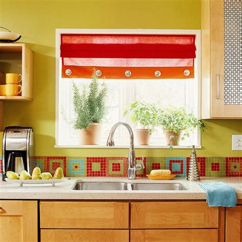 Colorful Kitchen Cabinets Ideas | 36 colorful and original kitchen backsplash ideas digsdigs
