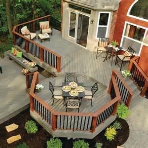 25 best ideas about wood deck designs on