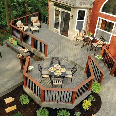 best deck designs 25 best ideas about wood deck designs on