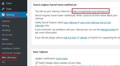 membuat sitemap xml wordpress cara membuat sitemap di wordpress niagahoster blog