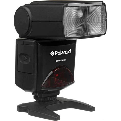 canon polaroid polaroid pl 144az shoe mount flash for canon pl 144az c b h