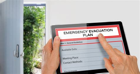 how to make an evacuation plan for your home and family