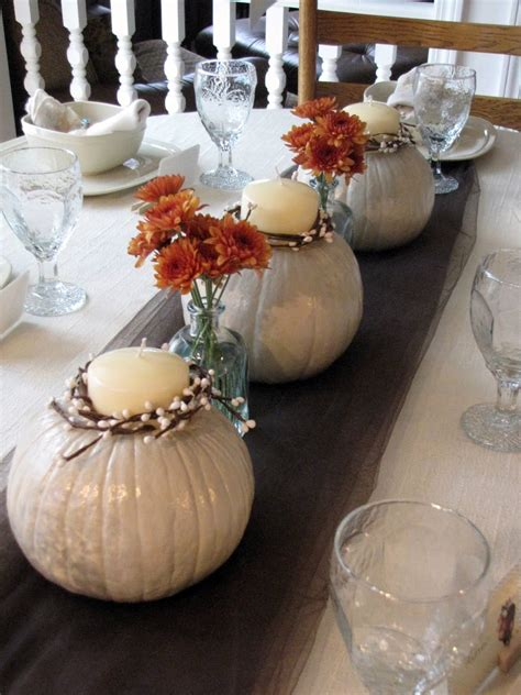 fall bridal shower decorating ideas white pumpkins centerpieces fall wedding shower puck