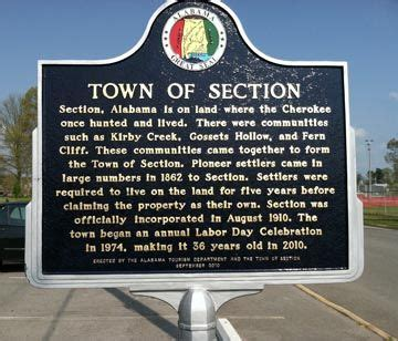section al my town section alabama history alabama history