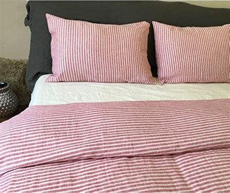 red and white striped comforter com red and white ticking stripe duvet cover in