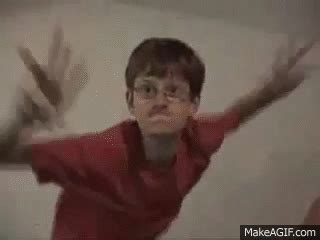 Dancing Kid Meme - two weird kids dance to crazy frog on make a gif
