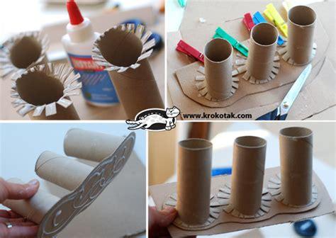Bear Toilet Paper Holder porta lapiz dibujos para el dia del padre imagui