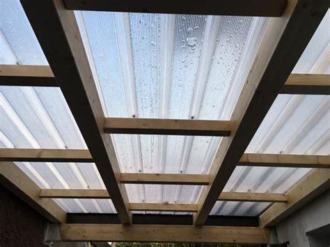 tettoie in policarbonato alveolare coperture trasparenti busto arsizio gallarate tettoie