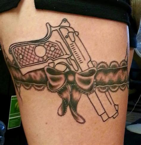 gun tattoos for females tincanbandit s gunsmithing gun tattoos