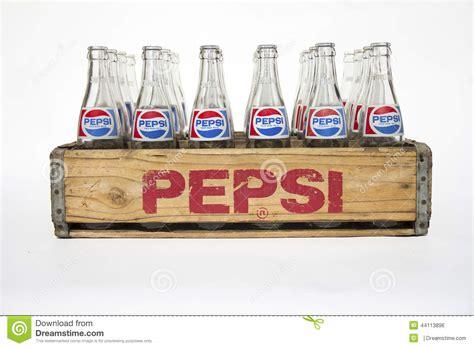 imagenes retro de pepsi vintage pepsi cola crate with bottles editorial photo