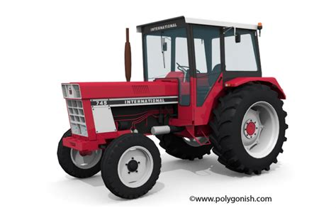 Case IH 745 - Polygonish