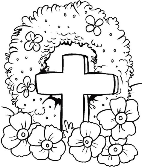 free printable coloring pages remembrance day anzac day poppies coloring pages