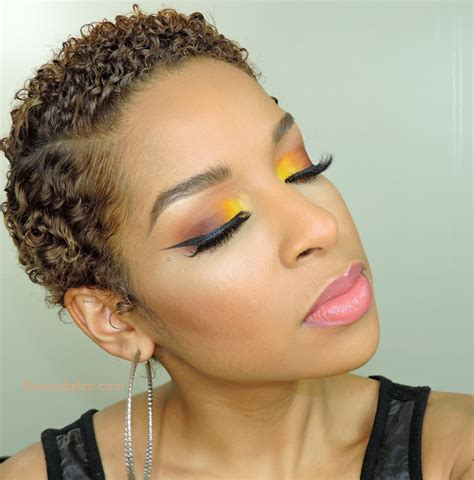 black people short hair cut with part down the middle how to sunlit smokey eyes beauty by lee
