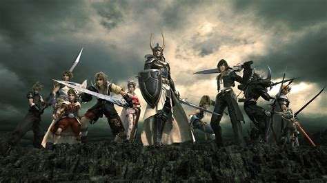 wallpaper game fantasy dissidia final fantasy wallpaper the final fantasy