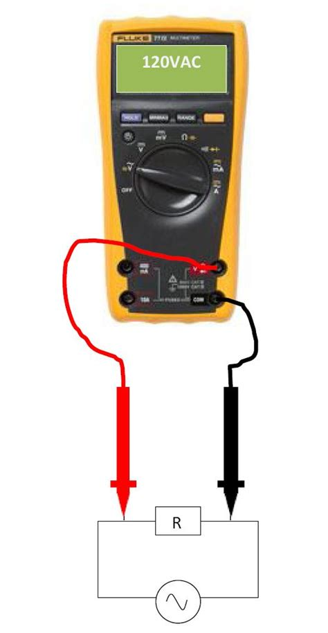 measure voltage across resistor multimeter how to use a multimeter learning instrumentation and engineering