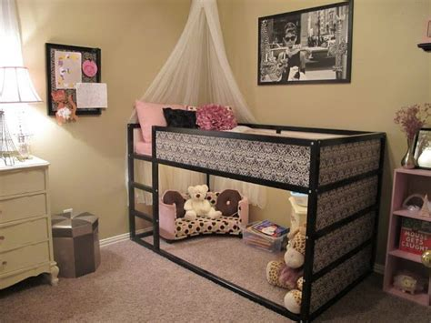 ikea girls bed ikea bed makeover room for the girls pinterest
