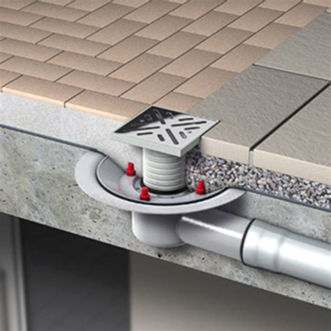 Patio Drainage Gully by Roof Drainage Aco Systems Fze