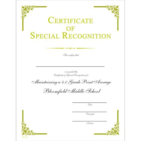 jones certificate templates special recognition award template driverlayer search engine