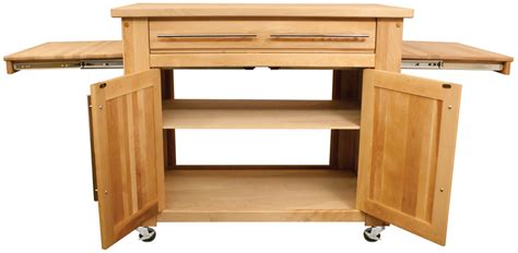 mobile kitchen island butcher block catskill 1480 empire mobile butcher block kitchen cart