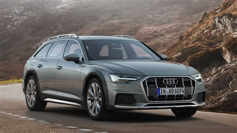 audi  allroad debuts   ground clearance