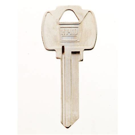 hy ko blank master lock key 11010m5 the home depot